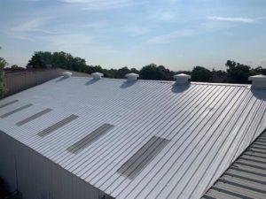 Metal Roof Restoration Commercial Roof Repair Solutions